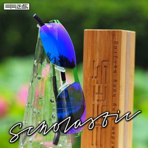 炫彩方框太陽鏡